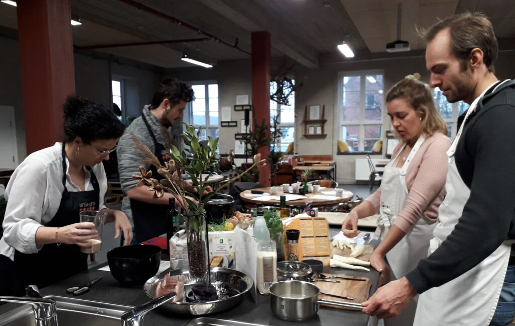 Plantebaseret madlavning med jetteboye.dk i hyggeligt miljø hos Café Sans i Stilling