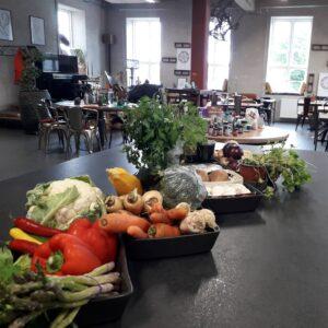 Designmejeriets skønne lokaler er klar til kursister i plantebaseret madlavning